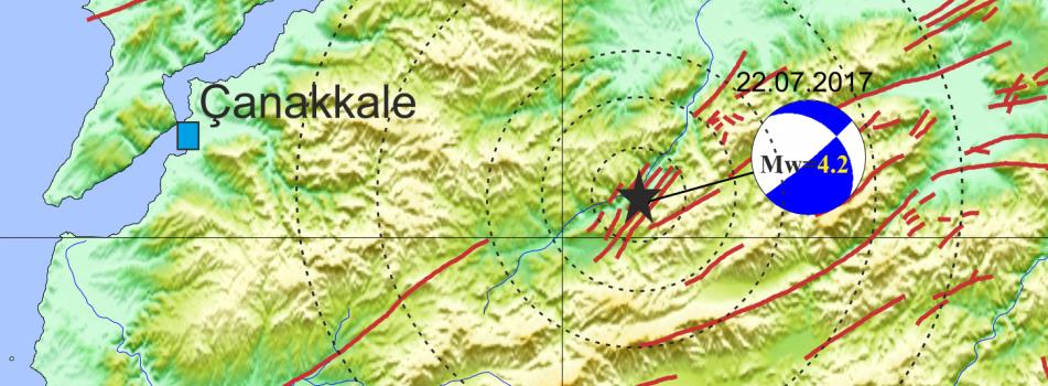 Çan'da Deprem