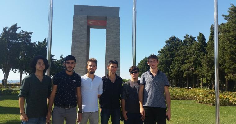 I. Sınıflar Oryantasyon Programı kapsamında Şehitlik Gezisi'ne katıldı