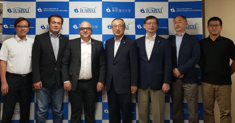 ÇOMÜ Öğretim Üyeleri Tokyo Unıversıty of Marıne Scıence and Technology Üniversitesiyle İşbirliğinin Devam Ettirilmesi Yönünde Japonya'da Görüşmelerde