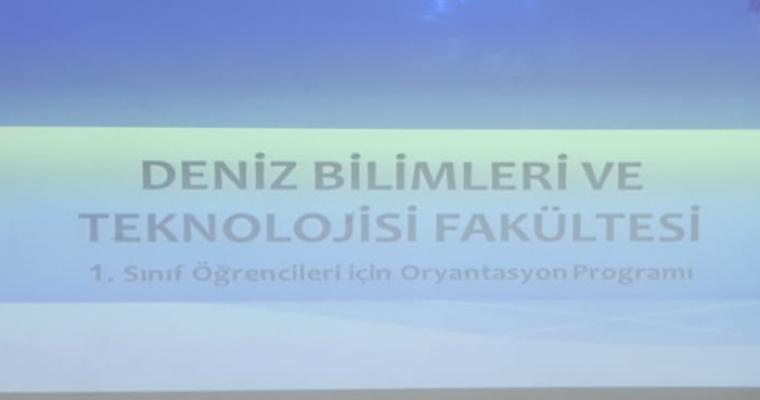 1. Sınıf Öğrencilerimize Oryantasyon Programı Düzenlendi