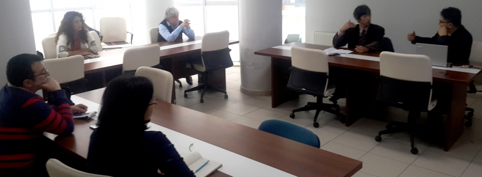Prof. Dr. Youngcook Jun Bölümüzü Ziyaret Etti