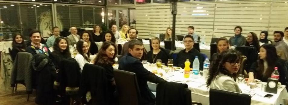 Eğitim Programları ve Öğretim Anabilim Dalı yemekte buluştu-20.03.2017
