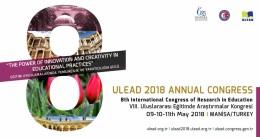 ULEAD 2018 - VIII. Uluslararası Eğitimde Araştırmalar Kongresi