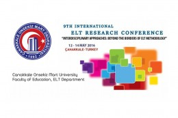 9. Uluslararası İngiliz Dili Eğitimi Araştırma Konferansı