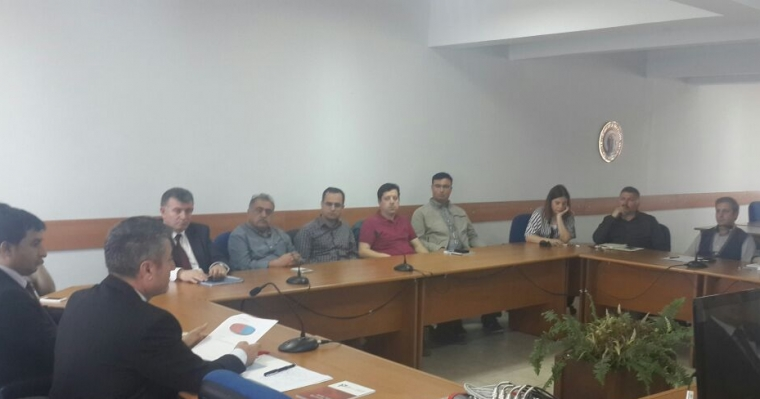 Dekan V. Prof. Dr. Dincay KÖKSAL Anabilim Dalı Başkanları İle Toplantı Yaptı