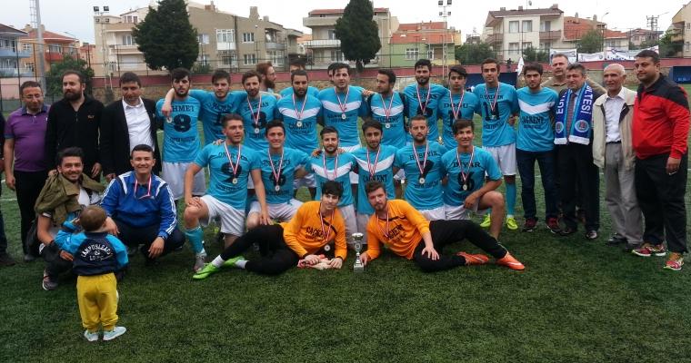Eğitim Fakültesi Futbol Takımı Şampiyon Oldu