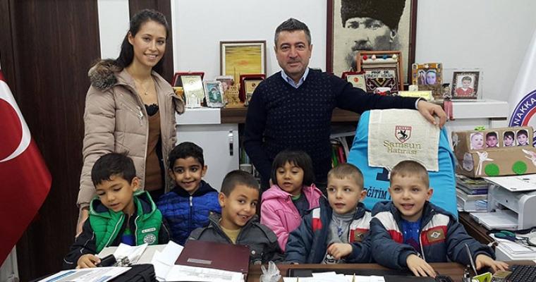 Dekan Vekili Prof. Dr. Dinçay KÖKSAL'a 24 Kasım Öğretmenler Günü Ziyareti