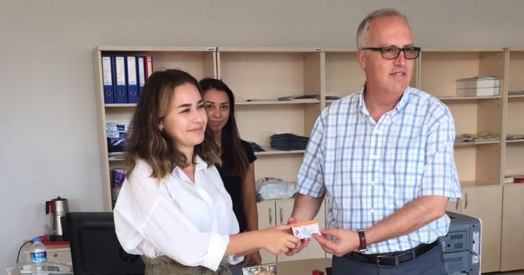 Eğitim Fakültesi İlk Kaydını Dekan Prof.Dr. Salih Zeki GENÇ Yaptı.