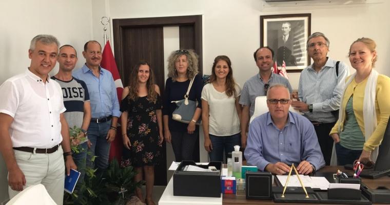 İtalyan Profesörler Fakültemizi Ziyaret Ettiler
