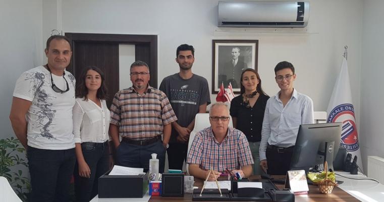 Psikolojik Danışmanlık ve Rehberlik Topluluğu Fakültemiz Dekanı Prof.Dr. Salih Zeki GENÇ'i Ziyaret Etti
