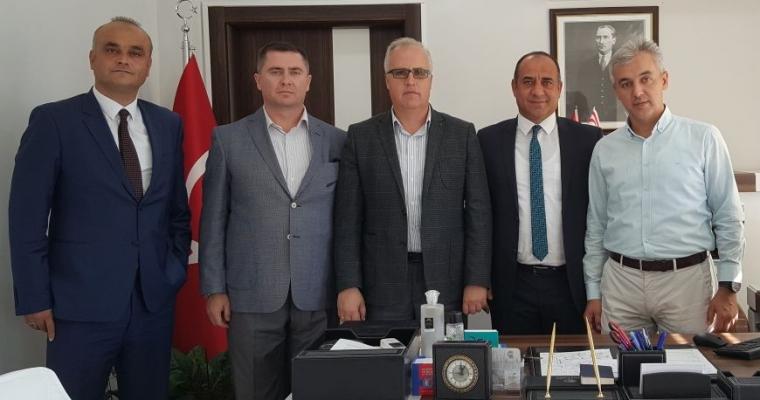 Çanakkale Gençlik Hizmetleri ve Spor İl Müdürlüğü Fakültemiz Dekanı Prof.Dr. Salih Zeki GENÇ'i Ziyaret Etti