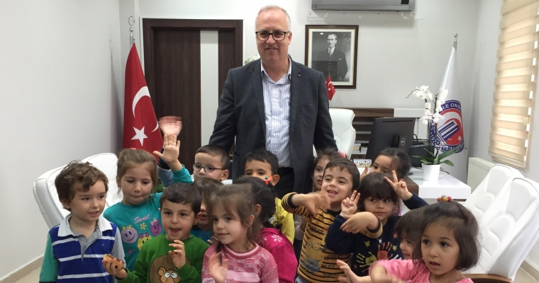 ÇABA Çok Amaçlı Erken Çocukluk Eğitimi Merkezi, Fakültemiz Dekanı Prof.Dr. Salih Zeki GENÇ'i Ziyaret Etti