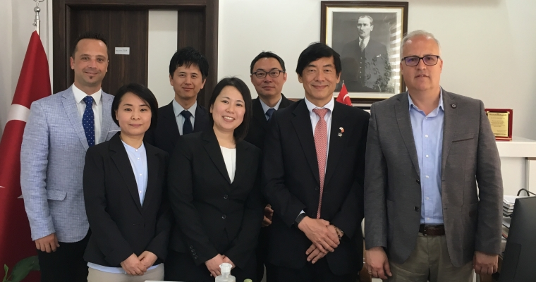 Japonya Ankara Büyükelçisi Akio Miyajima Fakültemizi Ziyaret Etti