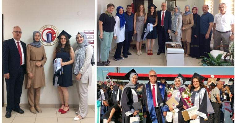 2018 - 2019 Eğitim - Öğretim Yılı Mezuniyet Töreninde Diploma ve Hediye Takdimleri Yapıldı
