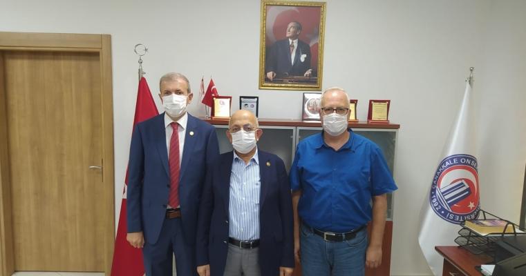 Rektörümüz Prof.Dr. Sedat MURAT Fakültemizi Ziyaret Etti.