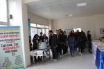 Ezine Meslek Yüksekokulunda Ezine Belediyesinin Katkılarıyla Aşure İkramı