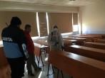 Meslek Yüksekokulumuz Corona Virüse Karşı Dezenfekte Edildi
