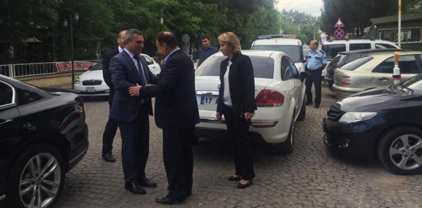 Ezine Belediye Başkanına Ziyaret