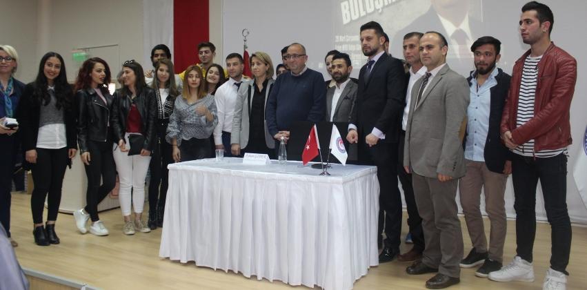 Çanakkale Milletvekilimiz Sayın Ayhan GİDER ile Yüksekokulumuzda Gençlik Buluşması
