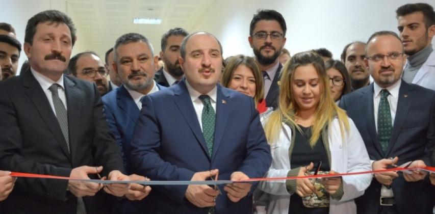 Süt Ürünleri Araştırma Ve Duyusal Analiz Laboratuvarı Açılışını Sanayi ve Teknoloji Bakanı Sayın Mustafa VARANK yaptı