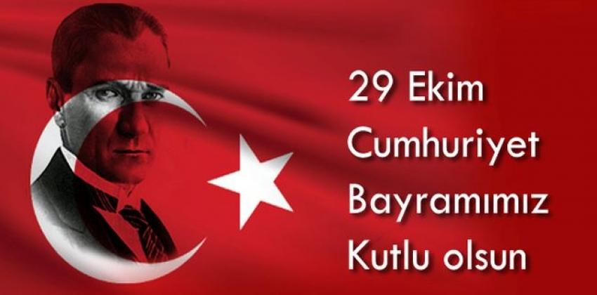 Müdür Doç. Dr. R. Cüneyt Erenoğlu'nun 29 Ekim Cumhuriyet Bayramı Kutlama Mesajı