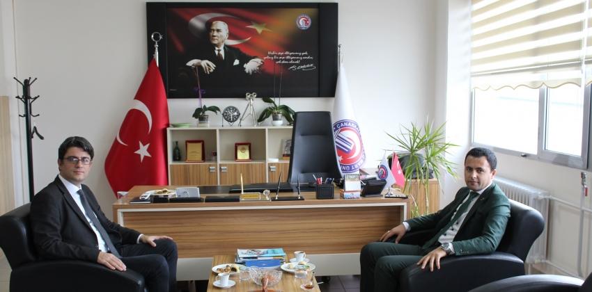 Ezine Kaymakamı Sayın Dr.Hacı Arslan UZAN'dan Ezine Meslek Yüksekokulu'na Ziyaret