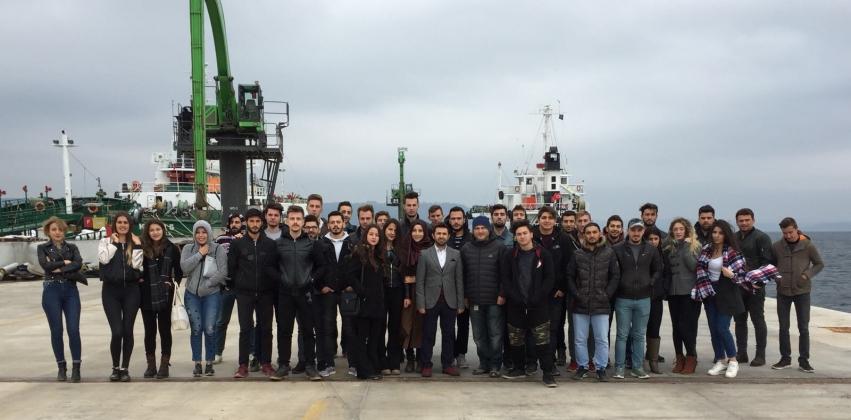 Dış Ticaret Bölümü Öğrencileri Gümrük Müdürlüğü Ve Liman İşletmesini Ziyaret Etti
