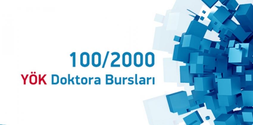 Fen Bilimleri Enstitüsü 100/2000 YÖK Doktora Bursu