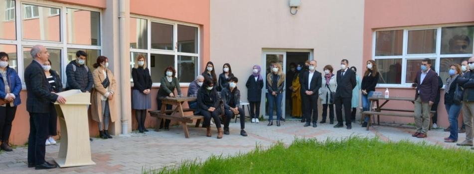 Merhum Prof. Dr. Telat Koç'un adı Coğrafya Laboratuvarı'na verildi