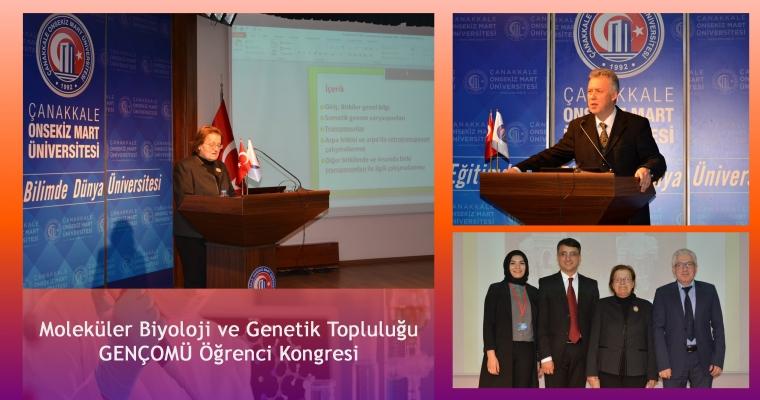 Moleküler Biyoloji ve Genetik Topluluğu GENÇOMÜ Öğrenci Kongresi