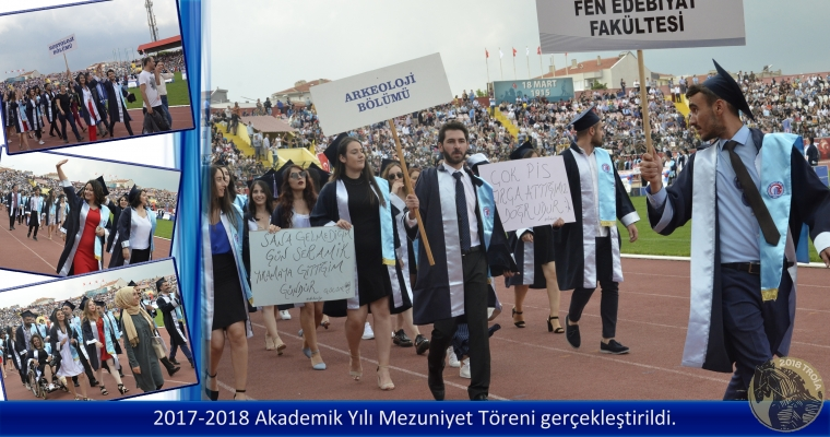 2017-2018 Akademik Yılı Mezuniyet Töreni Gerçekleştirildi