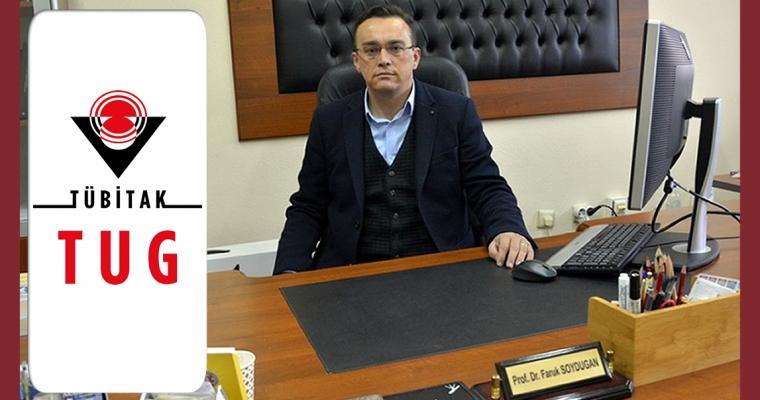 Prof. Dr. Faruk Soydugan TÜBİTAK Ulusal Gözlemevi (TUG) Yönetim Kurulu Üyeliğine seçildi