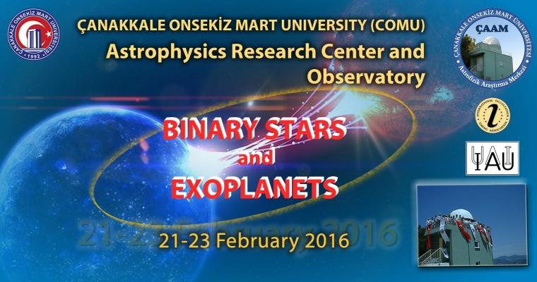 """""""Binary Stars and Exoplanets"""" Uluslararası Astronomi Çalıştayı ÇOMÜ'de yapıldı"""