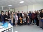 AKP İlçe Kadın Kolları tarafından öğrenci ve personelimize kısır ikramı yapılmıştır.