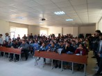 Staj evraklarının hazırlanması ve teslim süresi hakkında seminer.