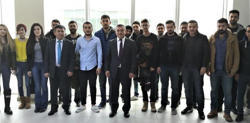 Rektör Prof. Dr. Yücel Acer'den Gelibolu Piri Reis Meslek Yükseokuluna Ziyaret
