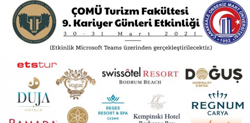 Turizm Fakültesi 9. Kariyer Günleri Etkinliği (30-31 Mart 2021)