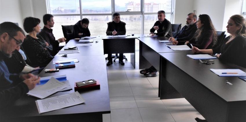Gelibolu Piri Reis Meslek Yüksekokulu Akademik Kurul Toplantısı Yapıldı.