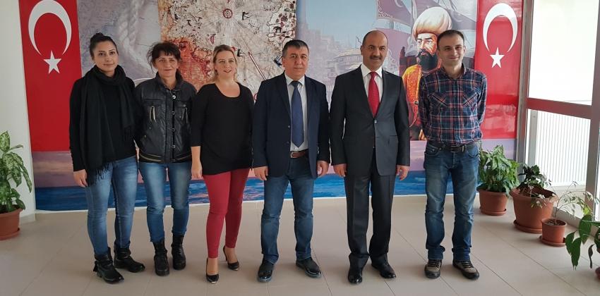 Kaymakam Hakan Kılınçkaya Meslek Yüksekokulumuzu Ziyaret etti.