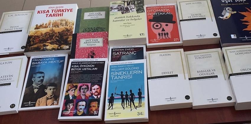 Türkiye İş Bankası Kültür Yayınlarından Kitap Bağışı