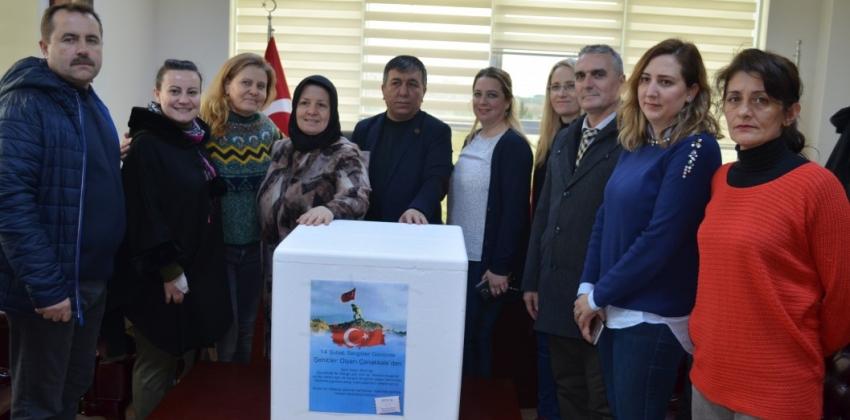 Meslek Yüksekokulumuzdan Afrin'deki Mehmetçiklerimize Destek
