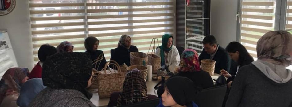 Biga Ağaköy Zembil Üreticileri Kadım Girişimcileri Çözüm Ortaklığı Toplantısı