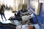 Gökçeada Meslek Yüksekokulu Öğrencilerinden Kan Bağışı.