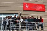 Gökçeada Meslek Yüksekokulu öğrencileri Çanakkale Huzurevi'ni ziyaret etti.