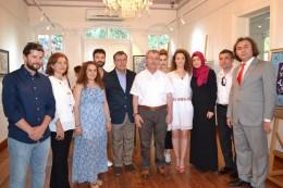 Çanakkale Onsekiz Mart Üniversitesi Güzel Sanatlar Fakültesi Geleneksel Türk Sanatları bölümü dördüncü sınıf öğrencileri sergisi