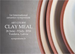 "1st International ceramics symposium ""Art Course: Clay Meal"""