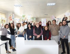 Prof. Hüseyin Bilgin Güzel Sanatlar Fakültesi grafik Bölümü öğrencileri ile ''Saros Günlükleri'' adlı çalıştayı gerçekleştirdi.