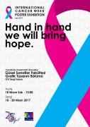 Uluslararası Kanser Haftası Afiş Yarışması Sergisi