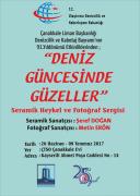 """""""Deniz Güncesinde Güzeller"""" Seramik Heykel ve Fotoğraf Sergisi"""