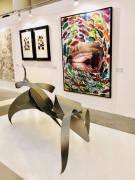 """""""ODTÜ sanat 19""""  Öğr. Gör. M.Berrin KAYMAN  davetli sanatçılardan biri olarak etkinliğe katılmıştır"""